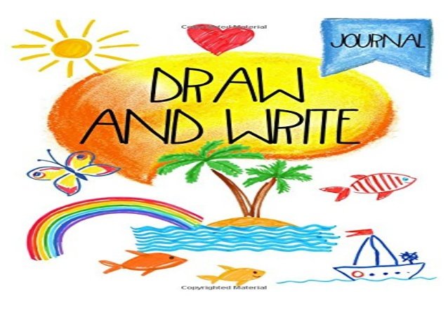 638x452 free download pdf draw and write journal writing drawing journal
