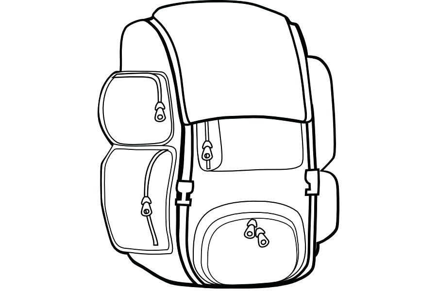 900x600 backpack drawing how to draw a backpack drawing string backpack