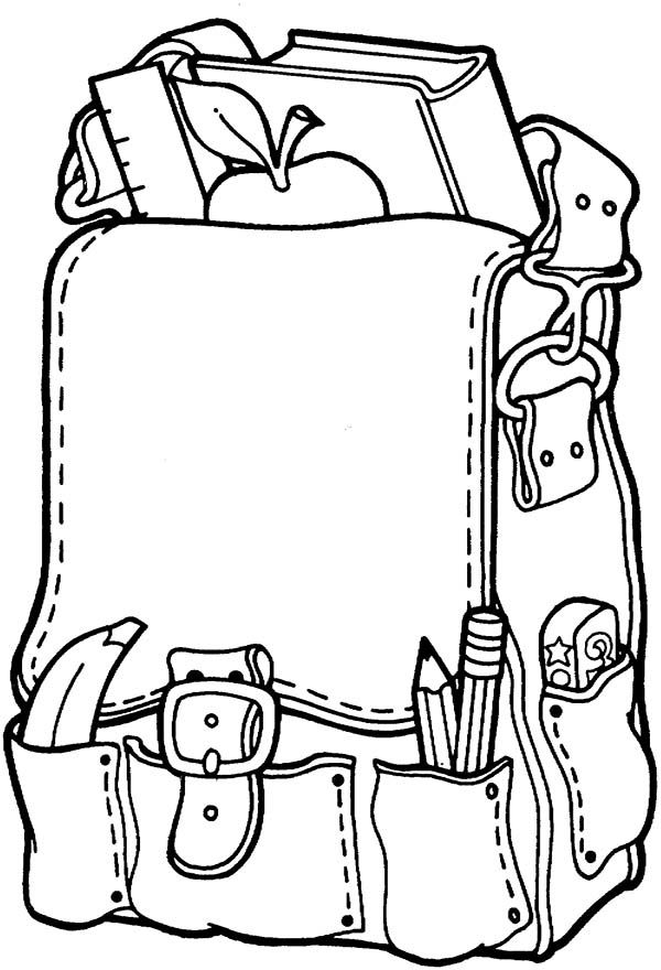 600x880 school supplies coloring pages beautiful school supplies coloring