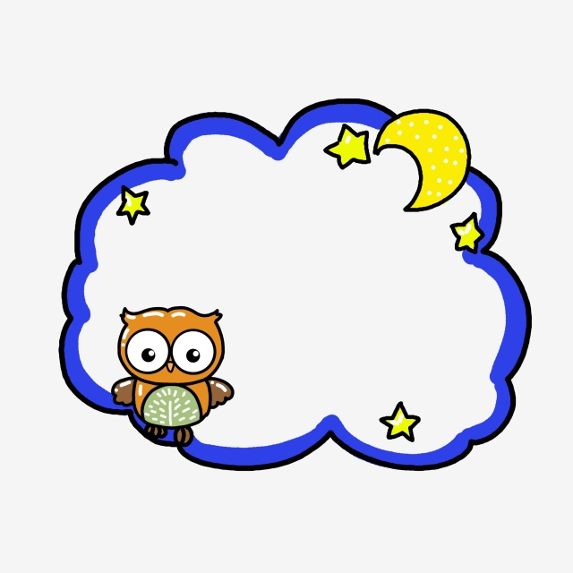 640x640 childrens drawing border cartoon border cute border space