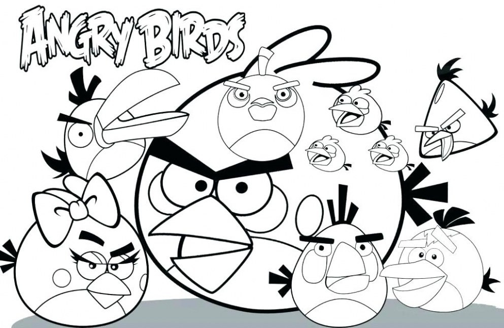 993x646 angry birds space free printable coloring pages unique angry birds