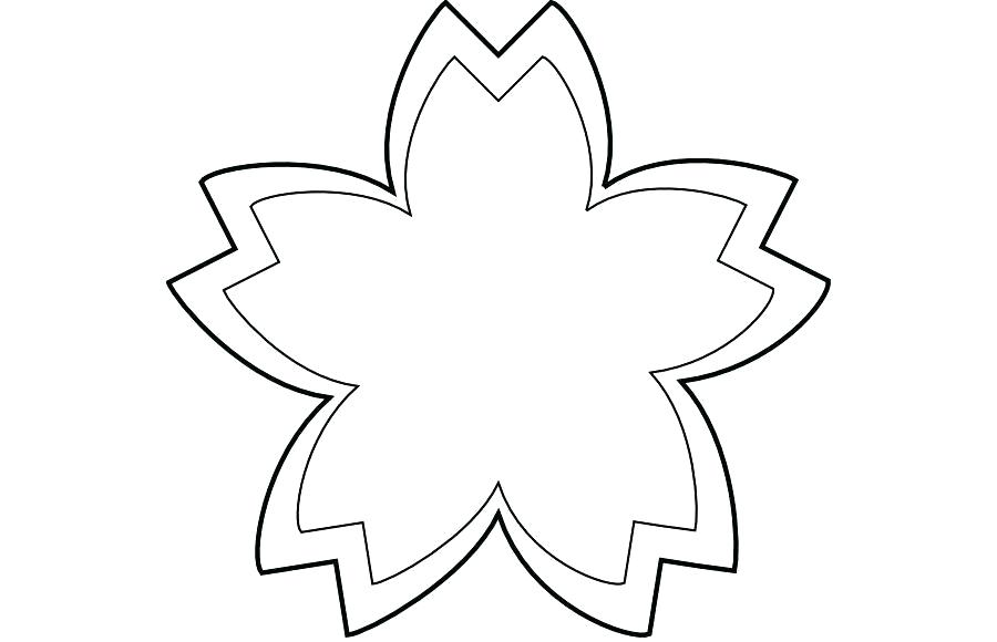 900x580 simple flower outline simple flower drawing flower black and white