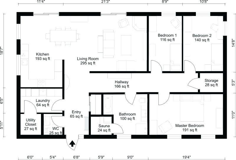 800x542 Free Home Blueprint Garage