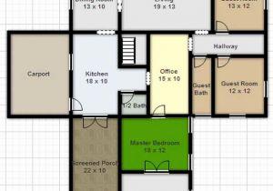 300x210 Free House Drawing Plans Elegant Drawing