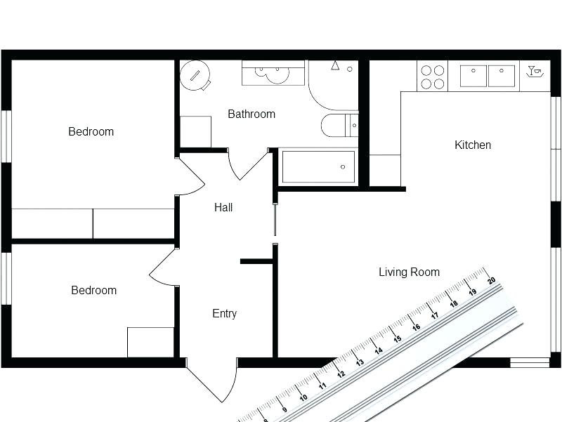 800x601 Draw A Floor Plan For Free