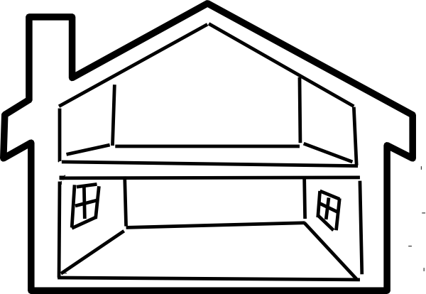 600x414 House Outline