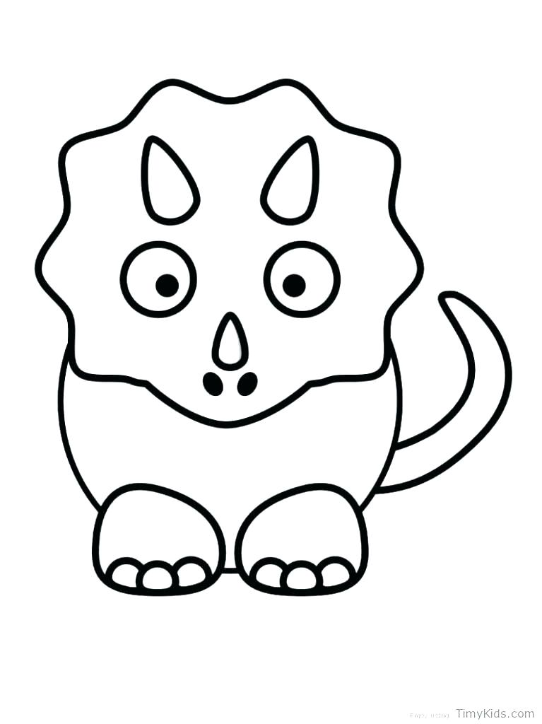 767x1024 Cute Dinosaur Colouring Pages Awesome Cute Dinosaur Coloring Pages