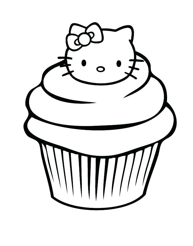 670x851 Hello Kitty Drawing For Kids Hello Kitty Coloring Pages Free
