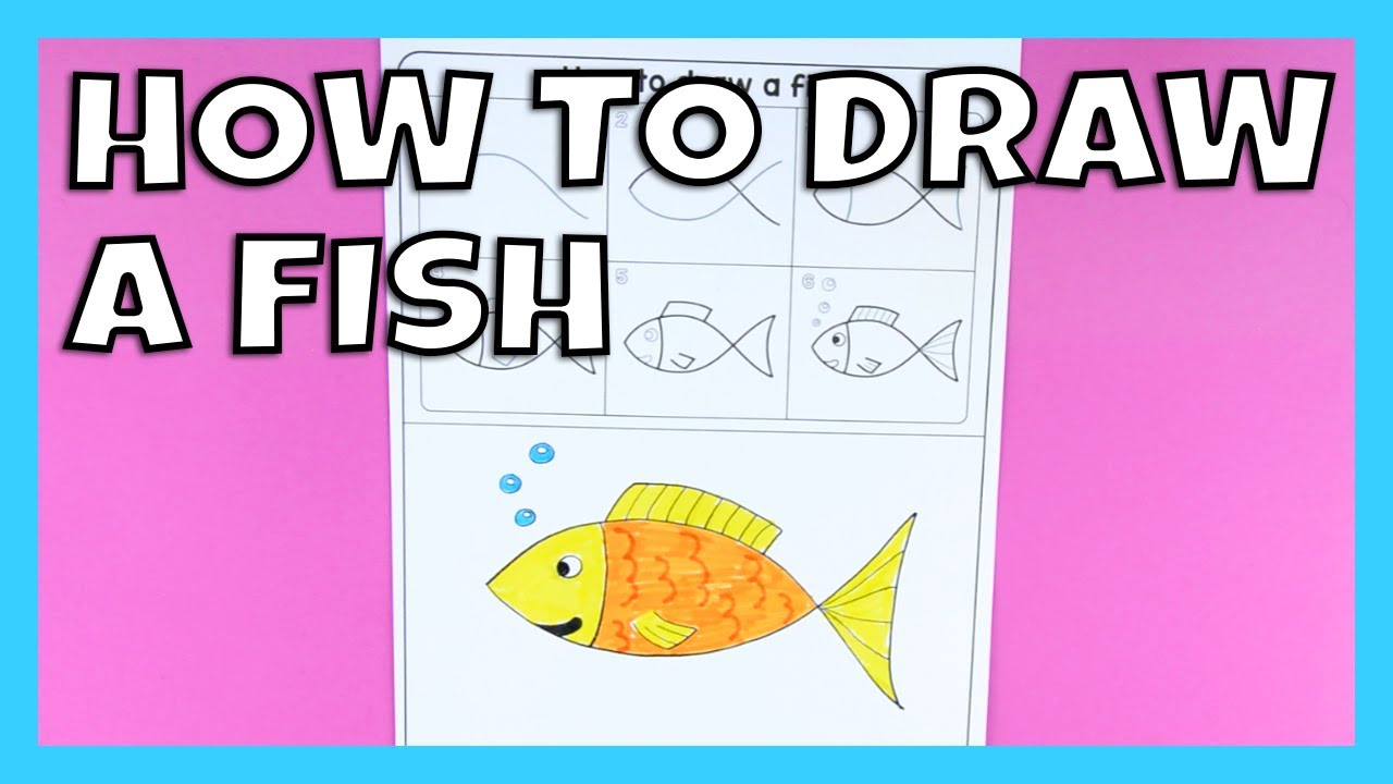 1280x720 How To Draw A Fish