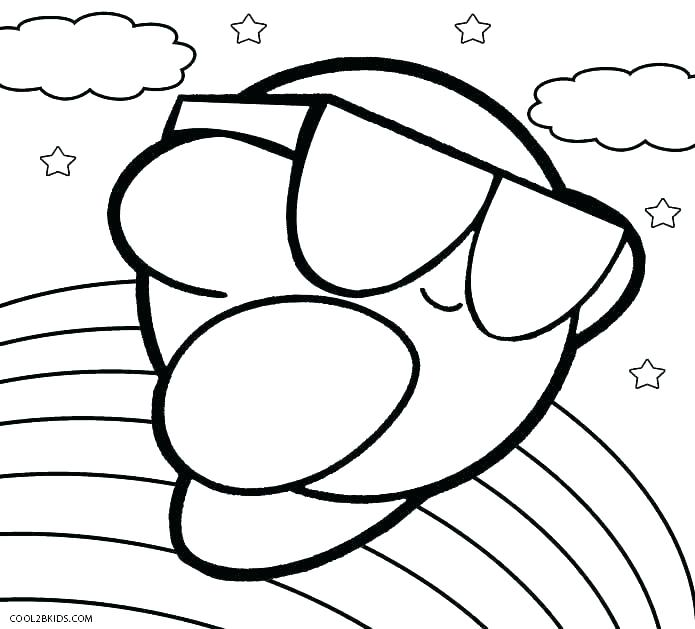 695x629 Buckets Ring Pages To Print Free Printable Cute Kirby Drawings