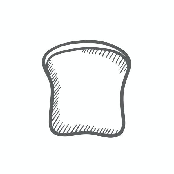 600x600 slice of bread drawing how to draw a bread slice slice bread