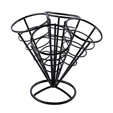 466x466 homyl french fry basket stand chips fry fish holders snacks fries