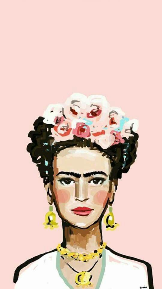 540x960 portrait of frida kahlo drawings in art, portrait art