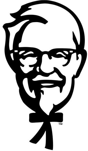 355x608 Kentucky Fried Chicken Logo Design