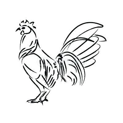 400x400 Draw Chicken