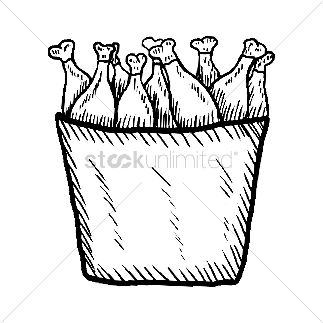 1300x1300 Bucket Of Fried Chicken Clipart