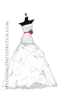 Frock Drawing