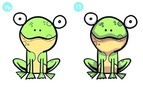 476x291 How To Draw A Frog How To Draw Frog Easy Steps