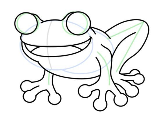 Frog Drawing Easy Free Download Best Frog Drawing Easy On