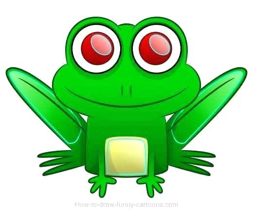 520x441 How To Draw A Easy Frog