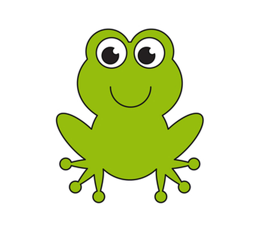 532x486 How To Draw A Frog Cartoon Step