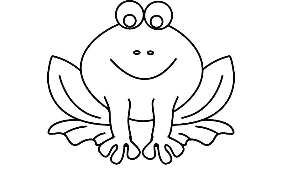 900x540 outline of a frog outline of a frog frog template animal templates