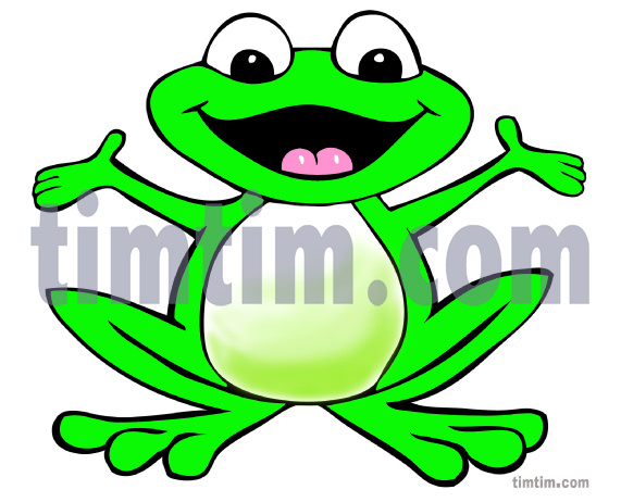 571x462 free drawing of a happy frog from the category reptiles dinosaurs