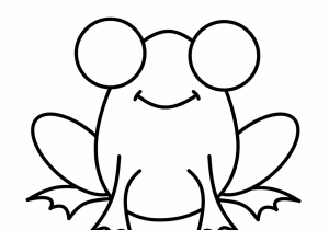 300x210 frog simple drawing easy to draw frog easy frog drawing