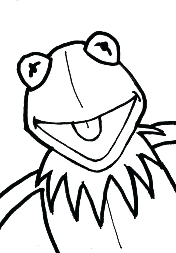 600x862 frog face drawing easy to draw frog face painting coloring pages