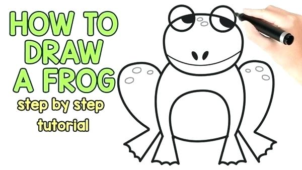 600x338 simple frog drawing frog kermit the frog simple drawing