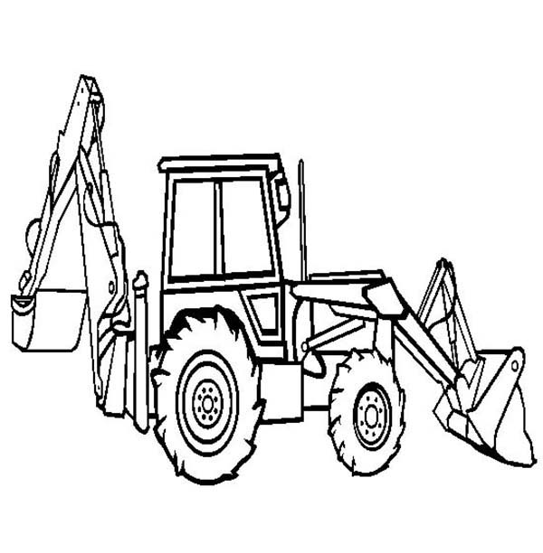 Front End Loader Drawing