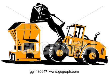 Front End Loader Drawing | Free download best Front End