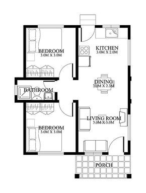 290x383 sq ft bedroom hmm change front bedroom to a porch