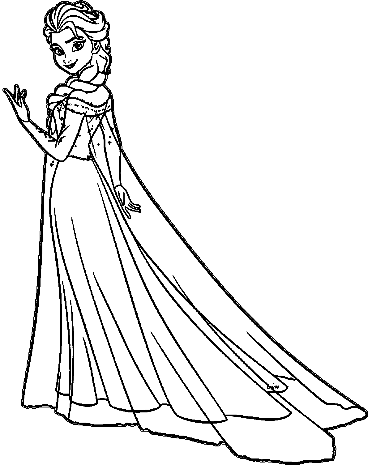 frozen anna and elsa drawing  free download on clipartmag