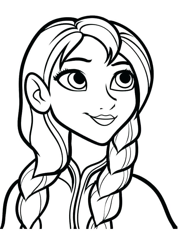 600x778 frozen anna colouring pages princess frozen coloring pages frozen