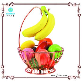 350x350 Eco Friendly Food Display Rack Drawing Fruit Basket For Sale