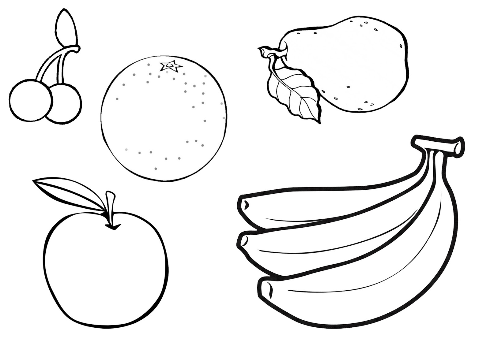 1600x1131 Fruit Basket Colouring With A Of Fruits Also Pictures