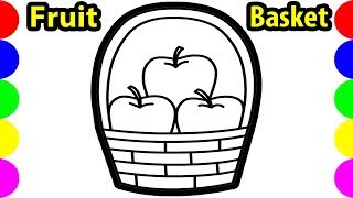 Fruit Basket Drawing | Free download on ClipArtMag