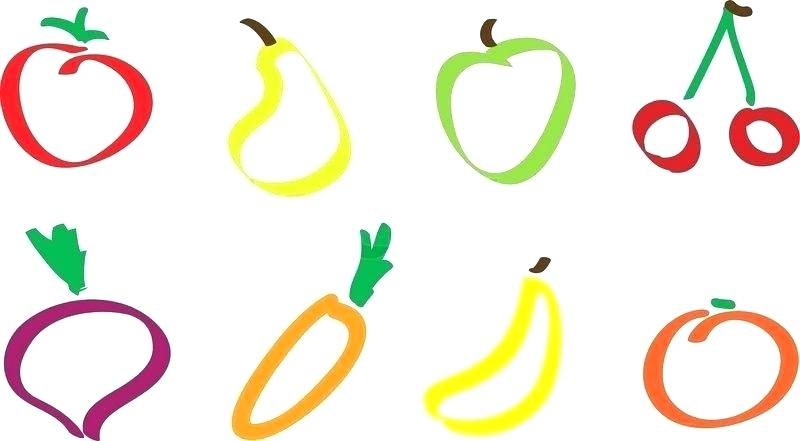 800x441 Drawing Of Fruit