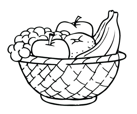 530x441 Pencil Sketch Of Fruit Basket Best Seller How To Draw