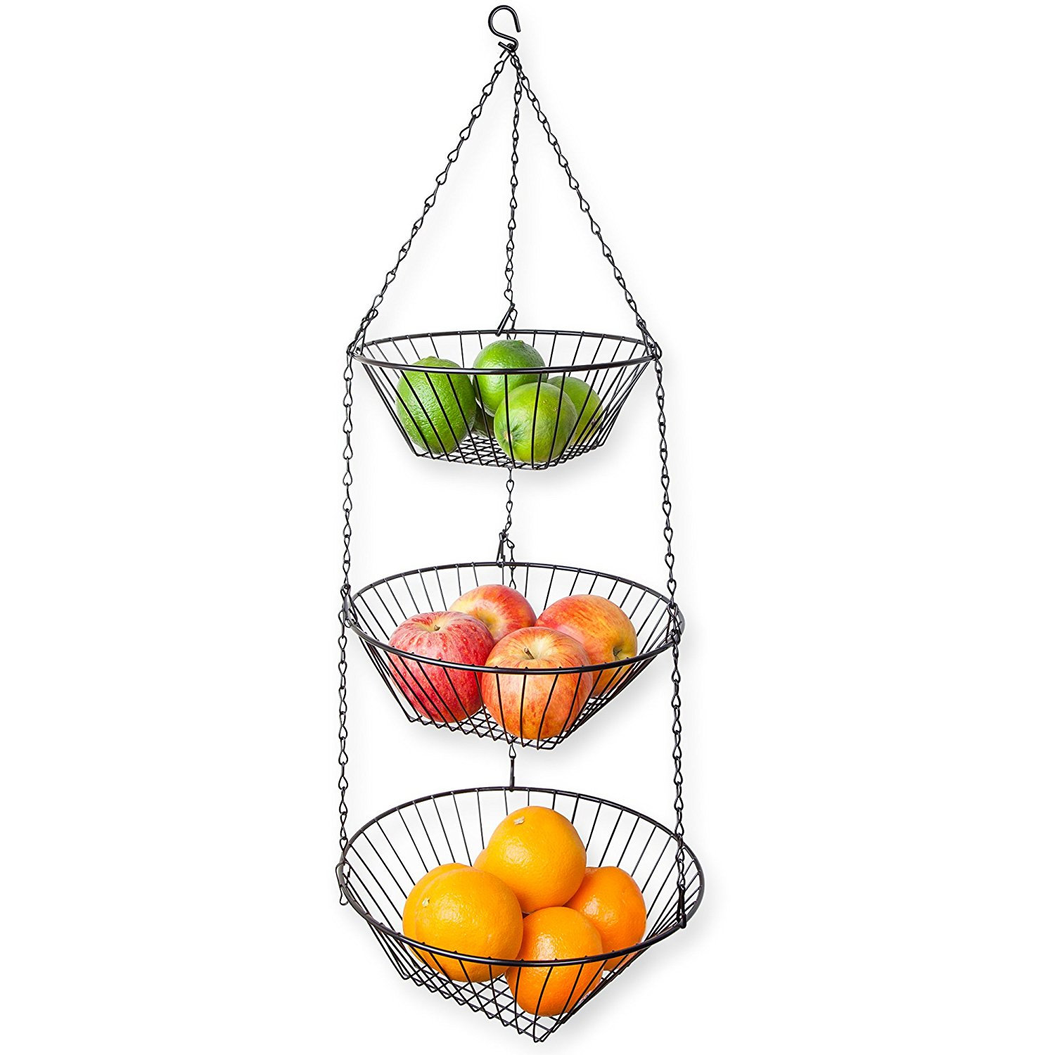 1500x1500 Winston Porter Home Basics Tier Wire Hanging Kitchen Fruit