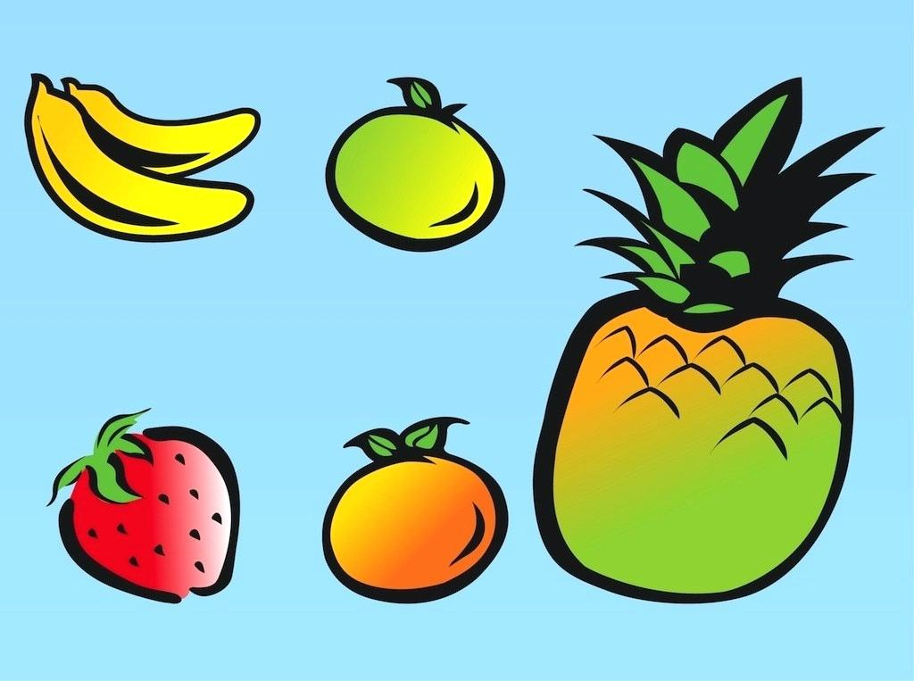 1024x763 Fruits For Drawing