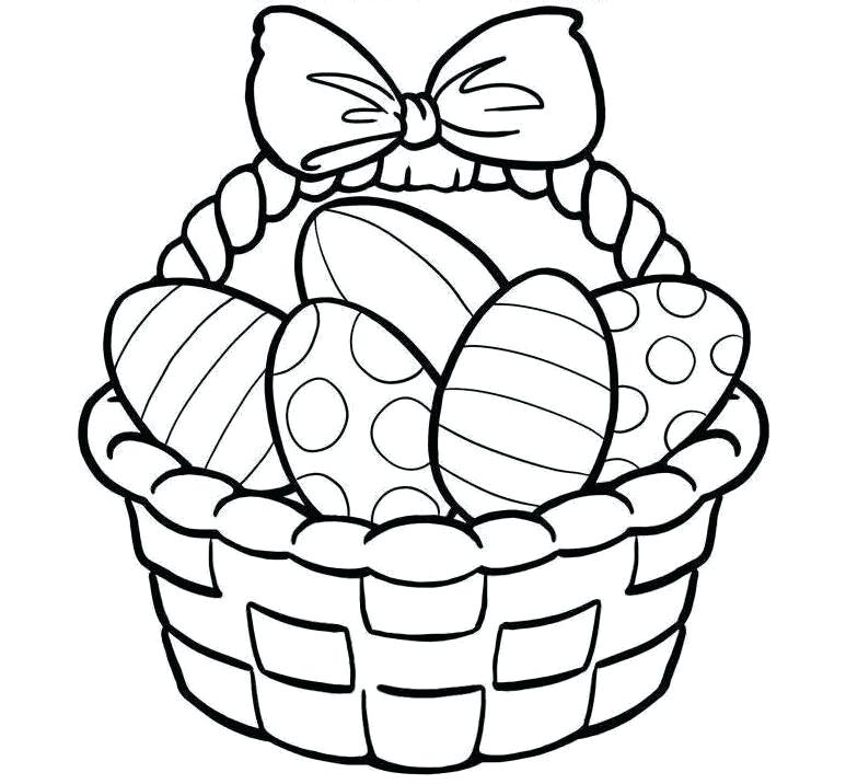 773x716 Basket Drawing Fruit Basket Drawing Outline