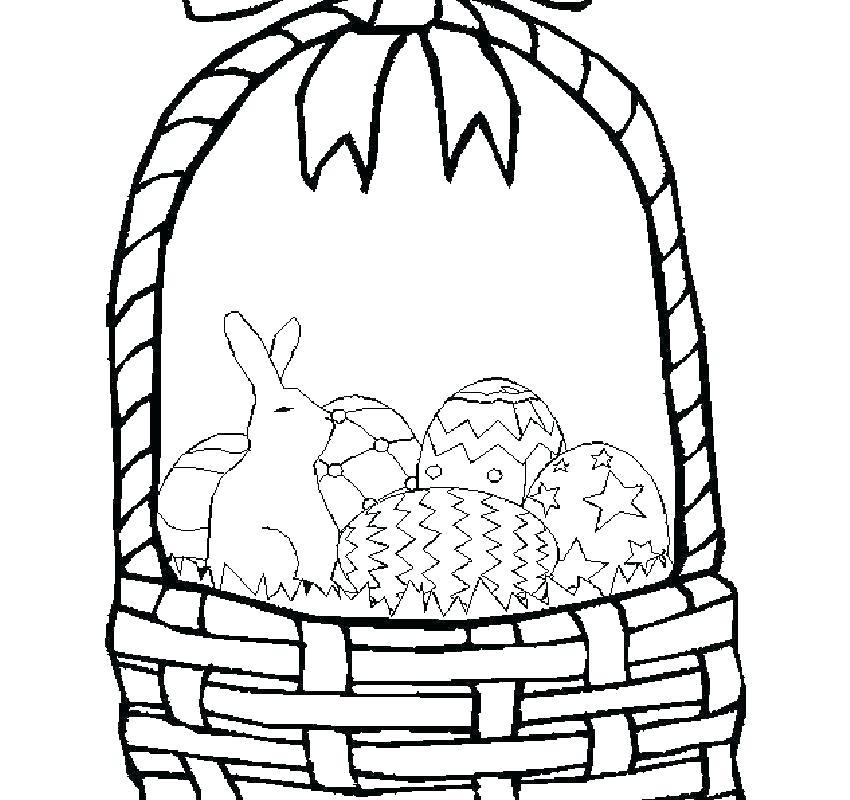 850x800 Basket Drawing Drawings Happy White Image Basket Drawing Images