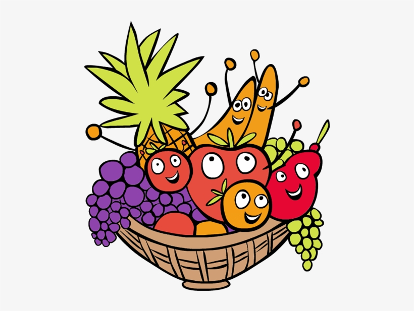 820x617 Clipart Pictures Of Fruit Basket