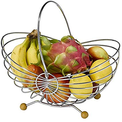 425x425 Fyydgz Fruit Bowl Fashion Creative Fruit Plate Stainless Steel
