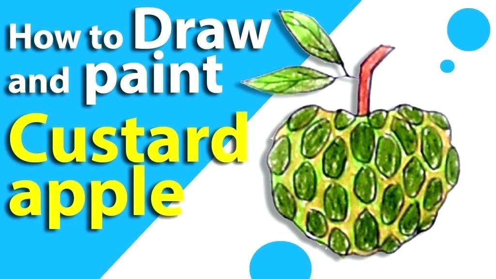 1024x576 How To Draw Fruits How To Draw A Fruit Bowl Draw Fruits In Basket