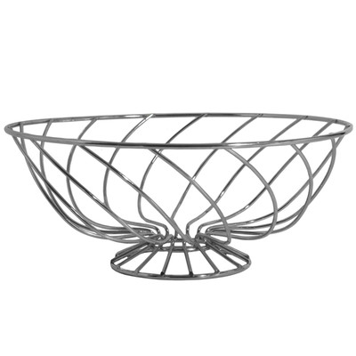 400x400 Empty Fruit Basket Clipart Black And White