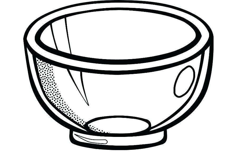 900x580 Drawing Of A Bowl How To Draw Cereal Cereal Step Line Drawing