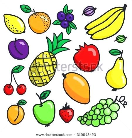 450x470 Cartoon Fruit Drawings Easy To Draw Fruits Easy To Draw Fruits
